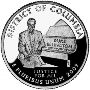 Duke Ellington Coin